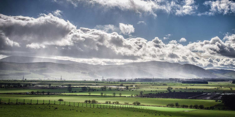 The Cheviot Hills, Northumberland